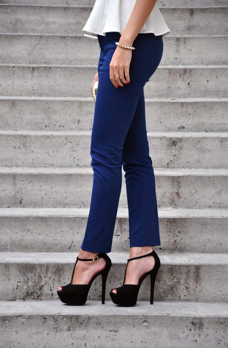 Excelentes zapatos de moda negros 2014