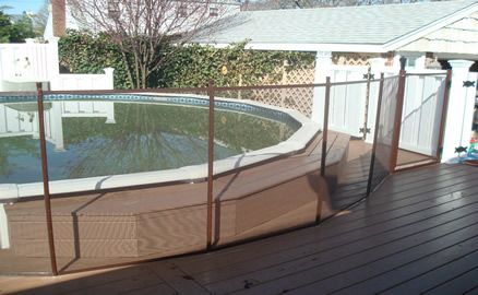 Above Ground Pool Fence House Ideas And Decor Pool