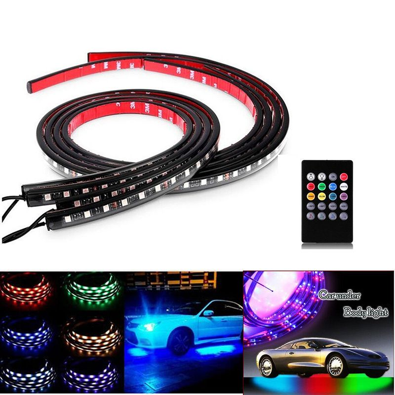 Extension Cable Wire /& Y Cable For RGB LED Car Underglow Neon Strip Lights Kit