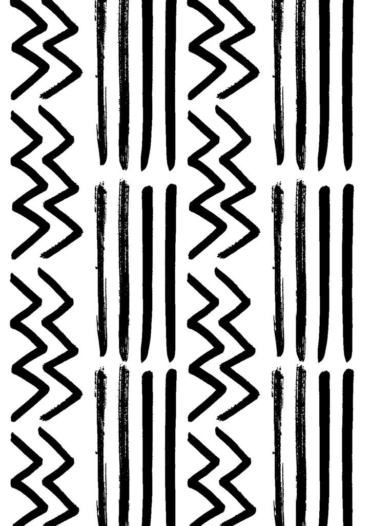 Beautiful printable Gift Wrapping Paper | The perfect addition to every gift this festive season | Black & White