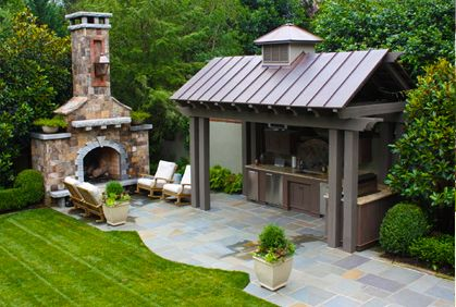 1000+ images about Backyard Kitchen on Pinterest   Small outdoor ...