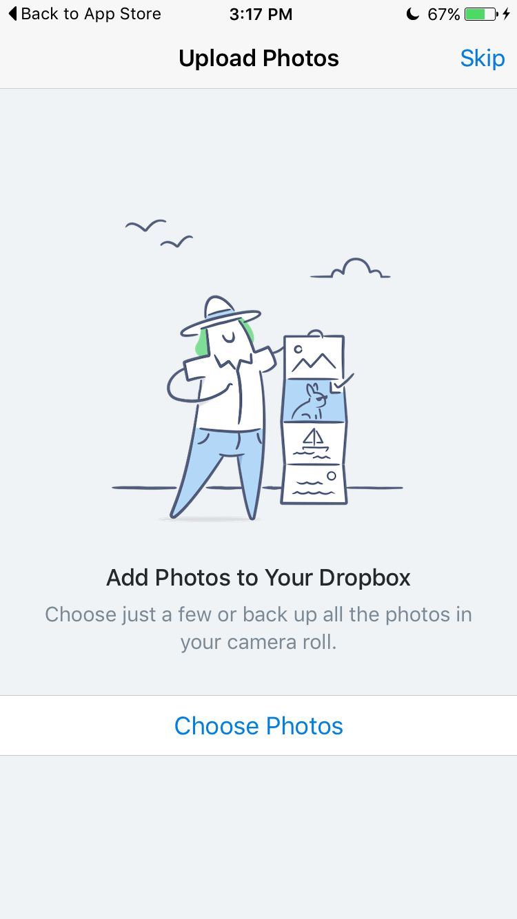 Dropbox photos empty state | Styles | Empty state, Character flat