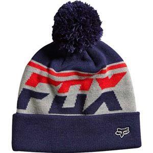 4fa046a3aa6825 Fox Racing Freakout Pom Beanie Hat For Men in Indigo 14747-199 ...
