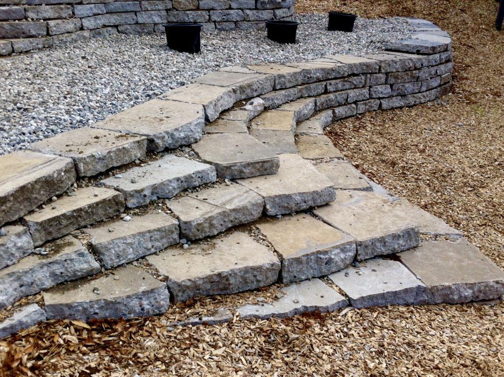 Broken Concrete Design Build Larry Santoyo Earthflow Designs Recycled Concrete Concrete Retaining Walls Building A Stone Wall