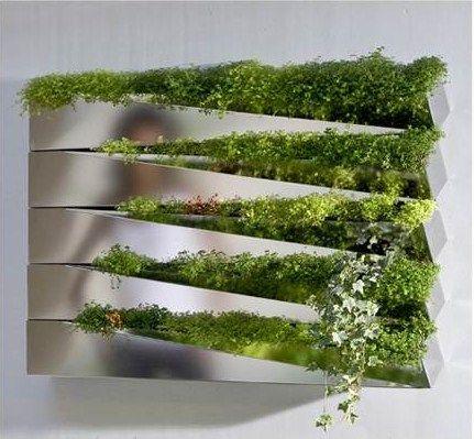 Adorable Herb Garden · Hanging Herb GardensHanging HerbsVertical ...