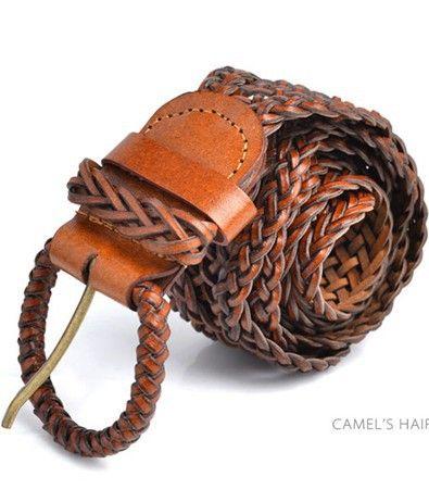 144ba9d4992aa womens braided belts for ladies dress