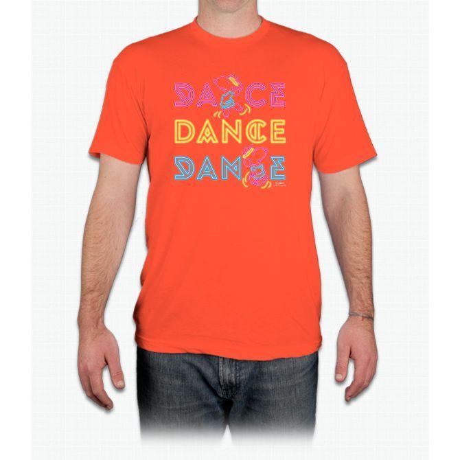 Peanuts Dance Tee Snoopy - Men T-Shirt