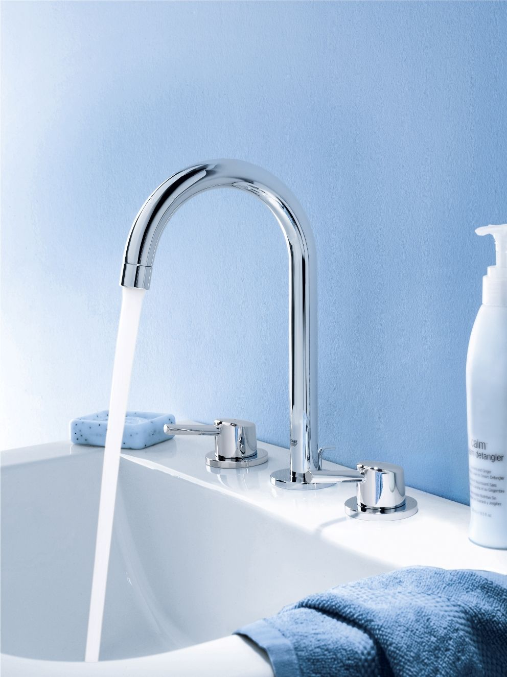 GROHE Concetto - 3 hole basin mixer | Bathroom Inspiration - Grohe ...