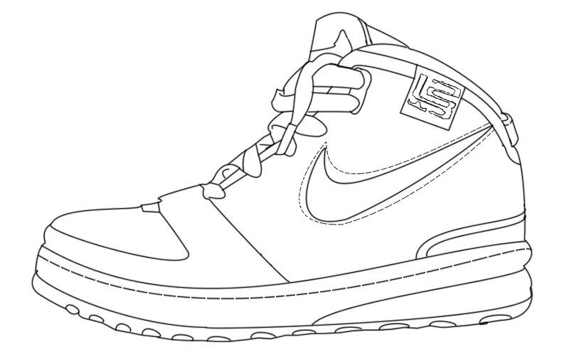 Gallery For Sneaker Design Template Elementary Art In