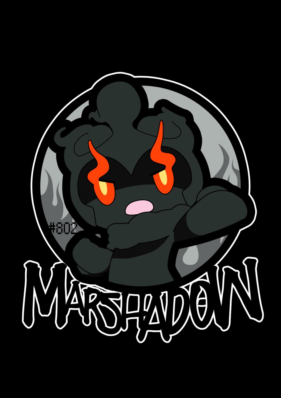 marshadow 802 by zxack pokemon sun and moon pinterest pokémon