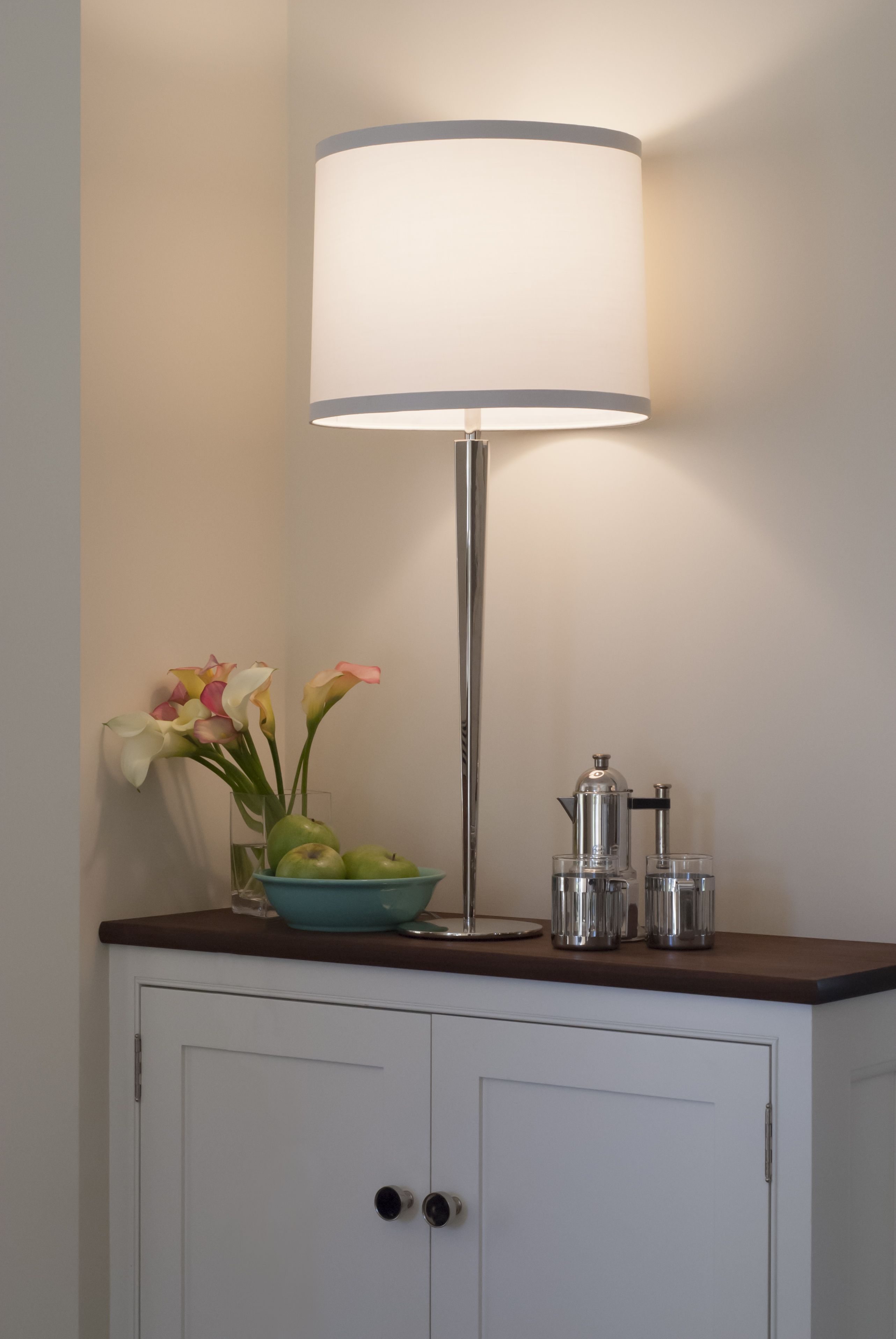 Boyd Lighting S Pacific Heights Table Lamp Grand Was Designed By Barbara Barry Extra Tall At 34 3 4 Inches And Clic In Inspiration It Embos The