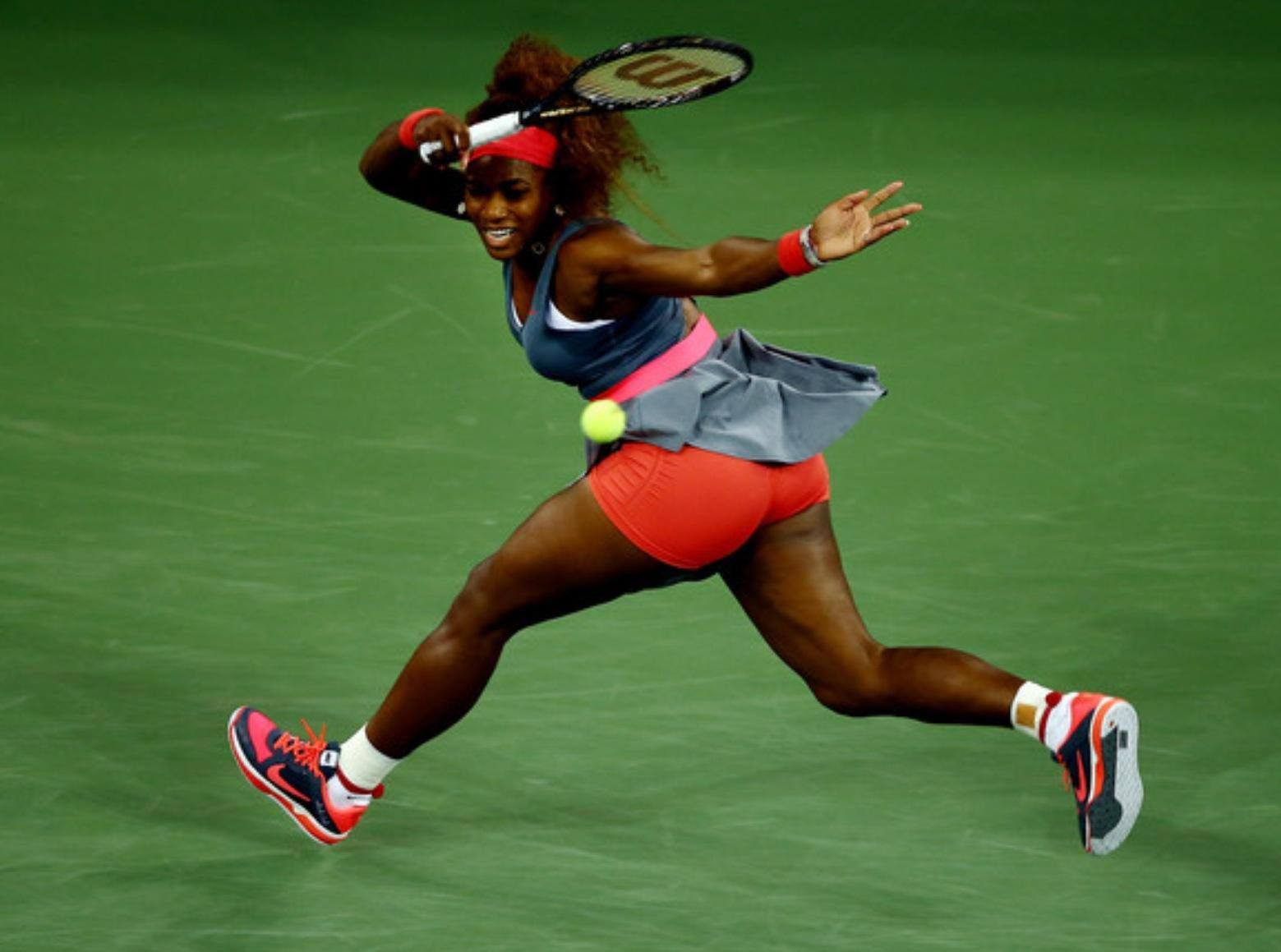 Serena at the US OPEN 2013