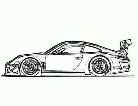 Porsche 959 Sport Coloring Page Porsche Car Coloring Pages