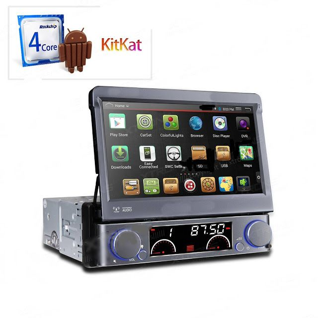 """INFORMATIC IN HOME CAR AUDIO: 7""""Android 4.4.4 KitKat Quad"""