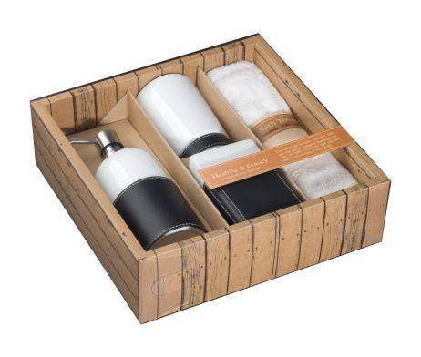 Kúpeľné súpravy zabalené do krásnych darčekových balení, môžu byť vynikajúcim darčekom pre vašich najbližších. Darčekové kúpeľné sady ponúkame za veľmi výhodné ceny, vďaka ktorým ušetríte viac, ako keby ste jednotlivé výrobky nakupovali zvlášť. Súpravy dekoratívnej kúpeľnej kozmetiky a wellnes doplnkov v darčekových baleniach sú skvelou voľbou, ktorá poteší vás i vašich blízkych.