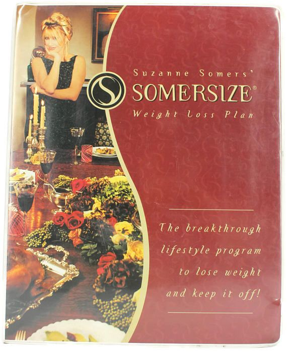 Vintage Suzanne Somers Somerize Weight Loss Plan Vhs