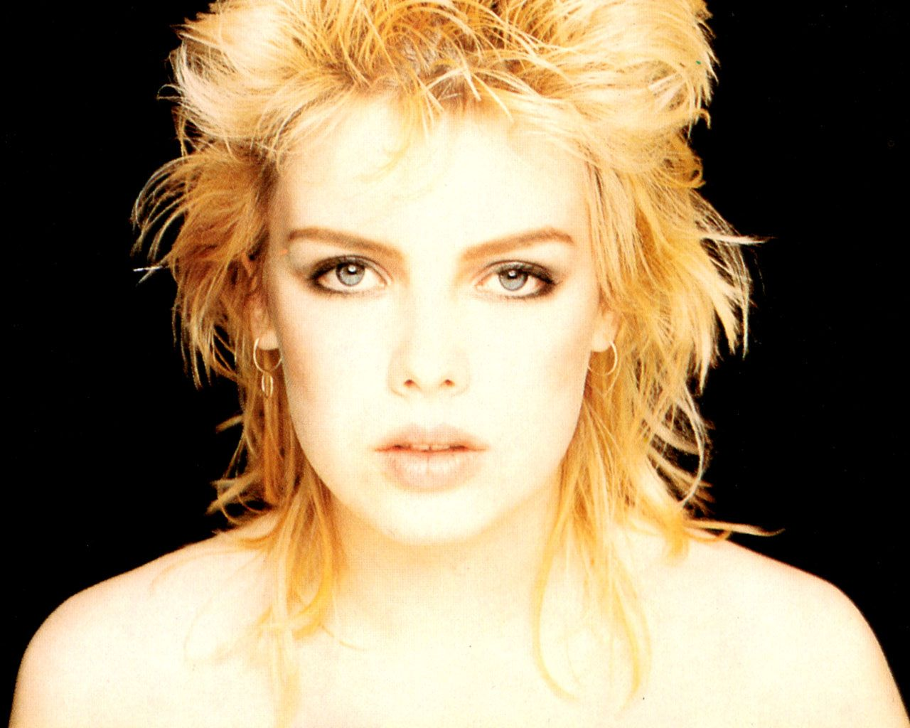 Kim Wilde - the only person I've seen who can pull off a mullet.