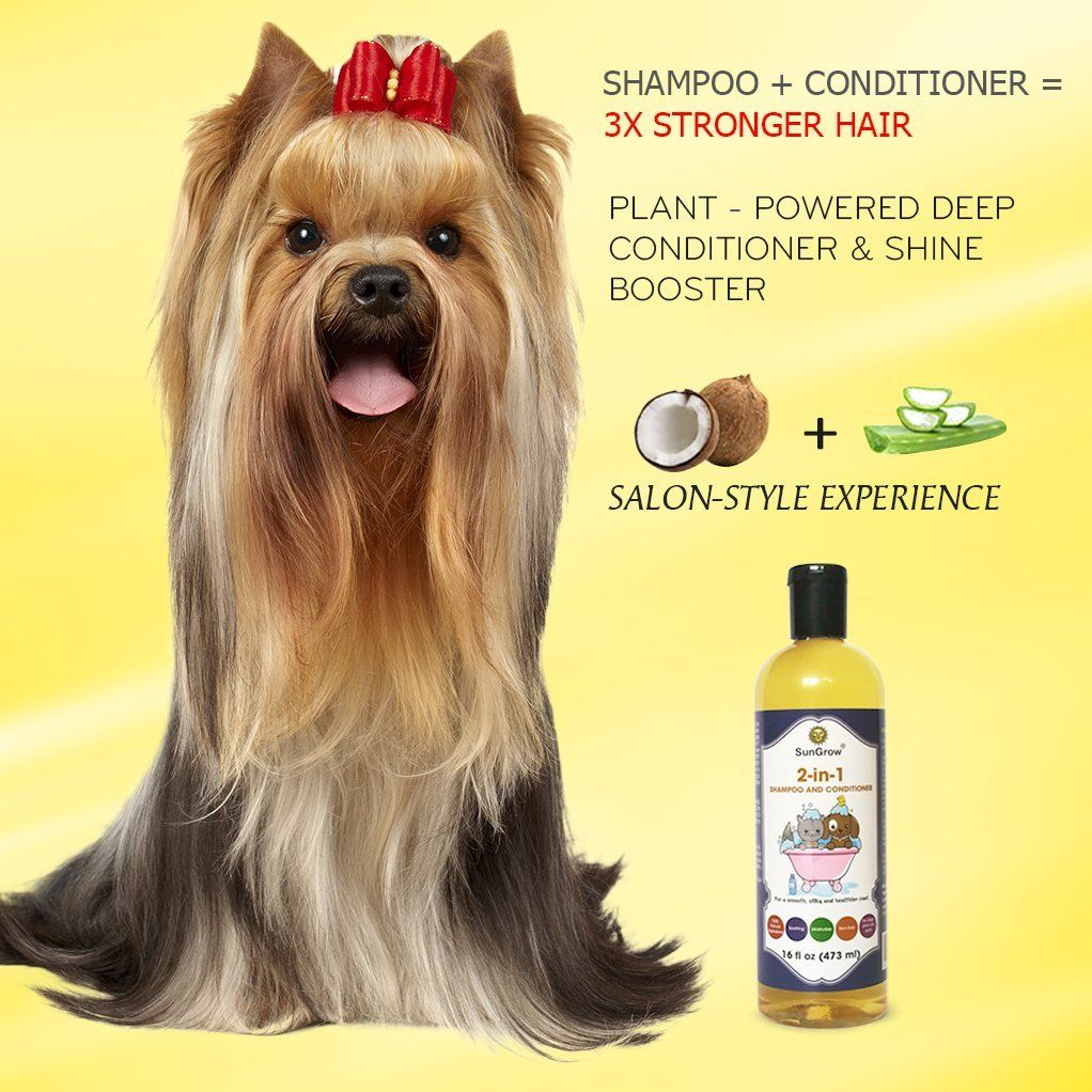 SunGrow Vet Trusted 2in1 100 Organic, Medicinal Pet