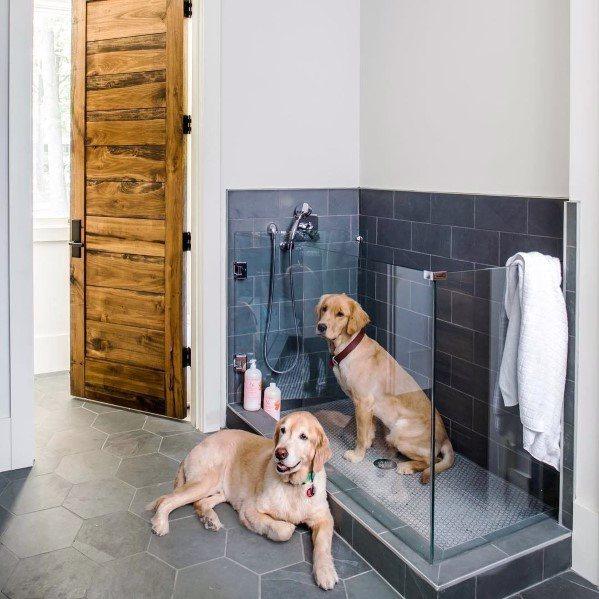 Top 60 Best Home Dog Wash Station Ideas Canine Shower Designs In 2020 Dog Washing Station Dog Shower Dog Wash