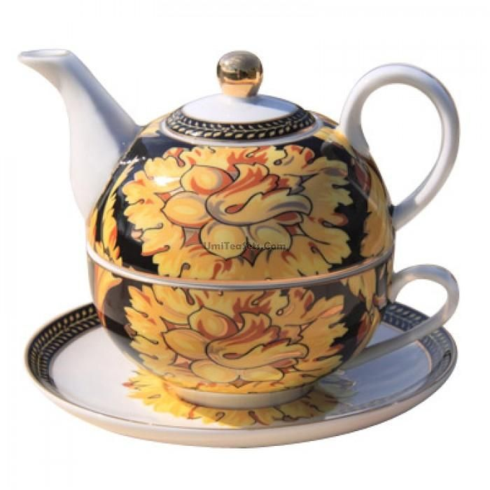 sunflower bone china tea for one set on DHgate.com.