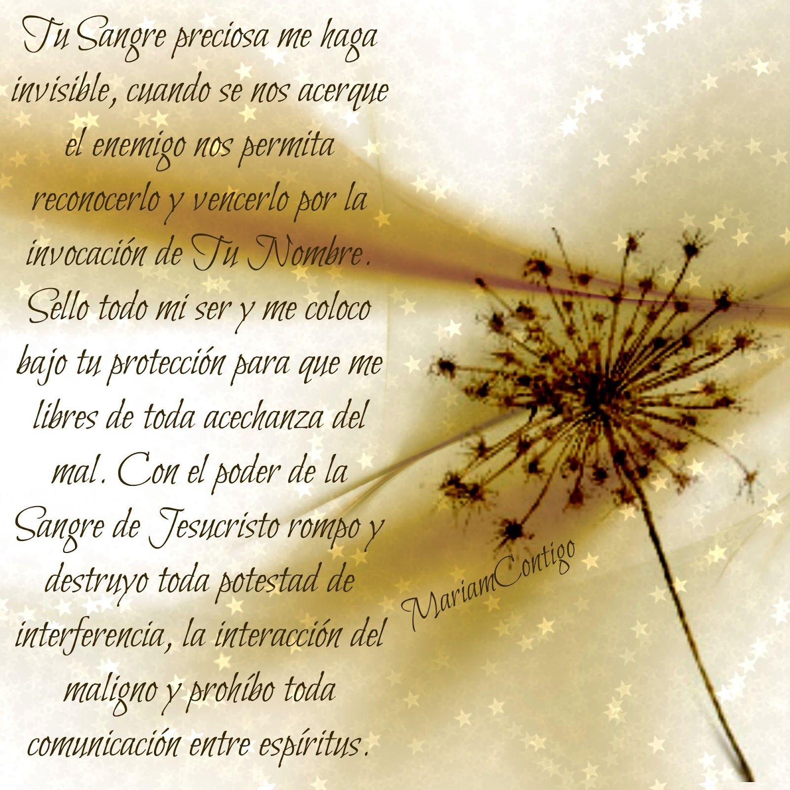 MARIA REINA Y SEÑORA POR SIEMPRE... / MI REINA MADRE...: «ES EL DEMONIO QUIEN ME TEME A MÍ»