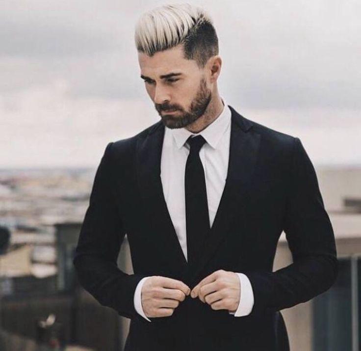 Pin De Carlos Woodroffe En Moda Ellos Tinte De Cabello Para Hombres Peinados De Hombre Pelo Pintado Hombre