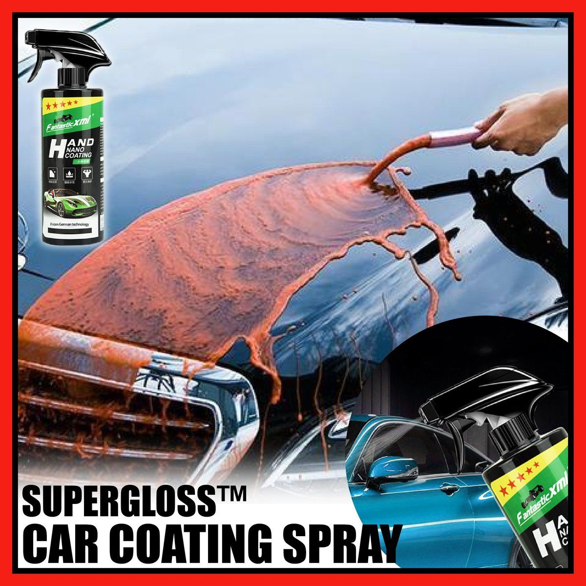 Supergloss Car Coating Spray Get The Hollywood Shine On Your Car Wi Trendy Selected In 2020 Car Coating Car Wax Car Painting