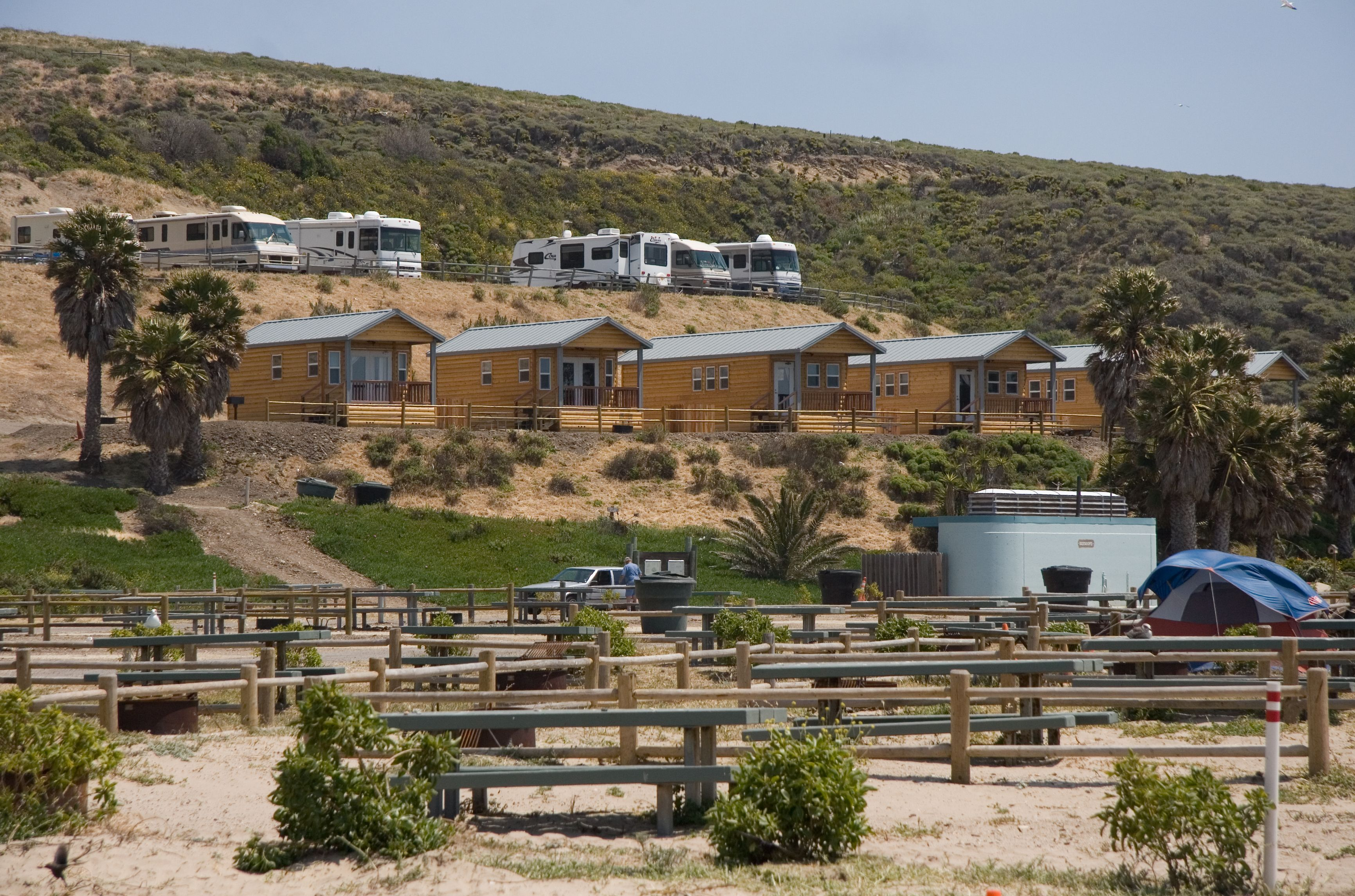 Jalama Beach, CA  Santa Barbara County Parks Department Leases These 7  Beautiful Cabins With