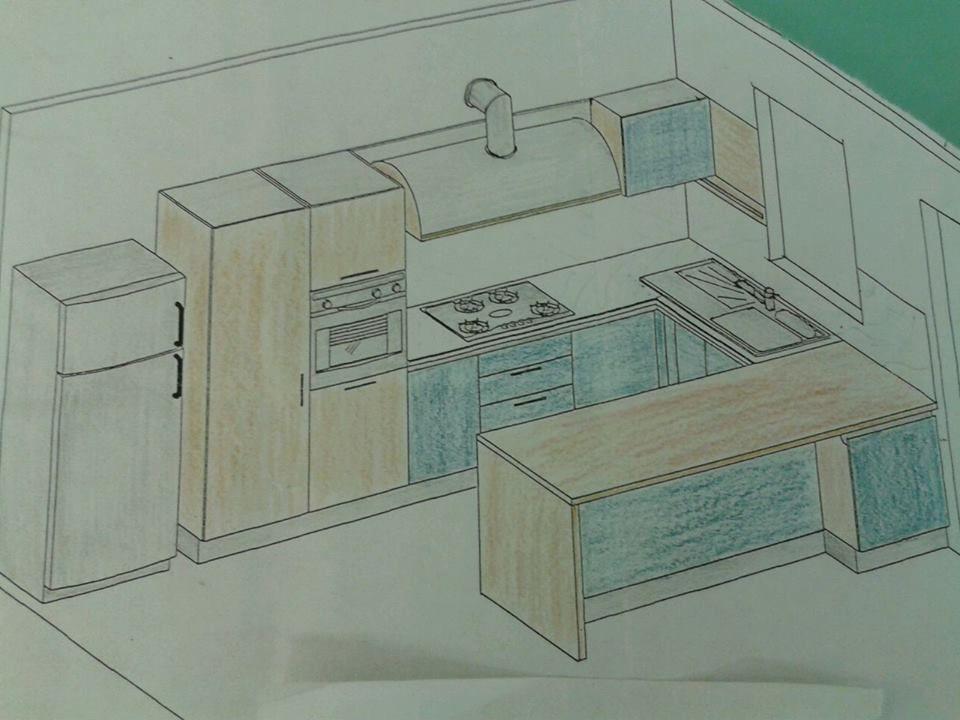 Progetto Cucina Con Penisola Snack Piani Di Lavoro Cucina Progetti Di Cucine Miglioramenti Della Casa