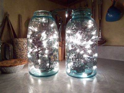 christmas lights in mason jars cute other mason jar lighting ideas too - Mason Jar Christmas Lights