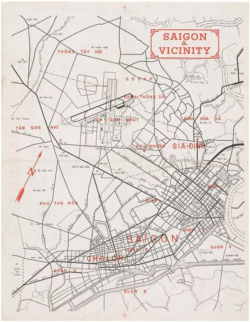 Map Of Asia During Vietnam War.Map Of Saigon Defense Of The U S Embassy Architecture City