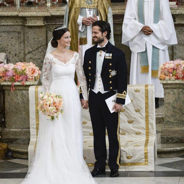 There's nothing quite like a #royalwedding - Sweden's Prince Carl Philip and Sofia Hellqvist tie the knot June 13 #2015