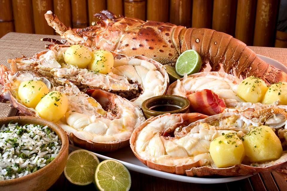 Lagosta ao forno | Receita | Receitas, Receitas de lagosta e Ideias