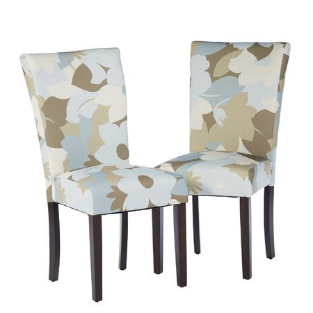 Best Flora Side Chair In Beige Blue Chair Parsons Chairs 400 x 300