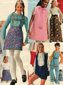 5c227ffd7bd 1970s little girl clothing - Yep I wore this stuff -