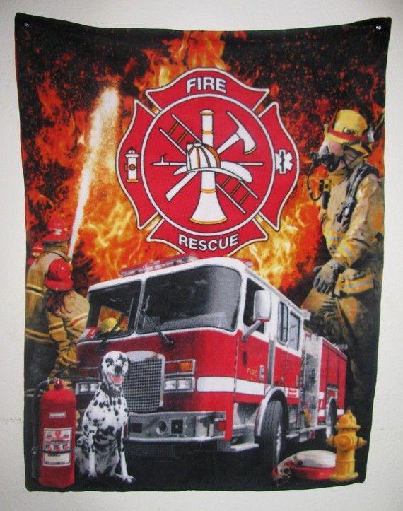 Fleece fabric firefighter