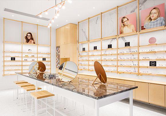Bonlook Nos Projets D Amenagement Commercial Store Interiors Shop Interiors Kitchen New York