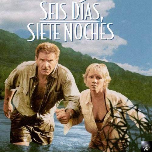 Siete días y siete noches (1998) EEUU. Dir: Ivan Reitman. Aventuras. Comedia. Romance - DVD CINE 224