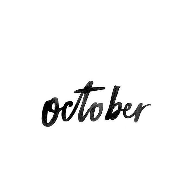 Hello October  #Soko #home #sokohome #homesweethome #october #love #lifestyle #automn #bzh #deco #decoration #interior #design #interiordesign #blackandwhite # #weekend #morning #saturday