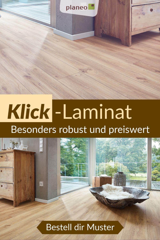 Laminat Laminatboden Zum Klicken Einfach Zu Verlegen In Eiche Grau Fliesenoptik Holzoptik In 2020 Laminat Laminatboden Klick Laminat