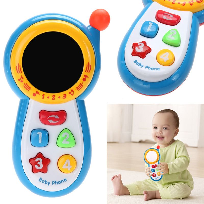 Baby Foot Wrist Rattle Socks Set Sensory Soft Toy Lovely Cartoon Animal Toys CMX
