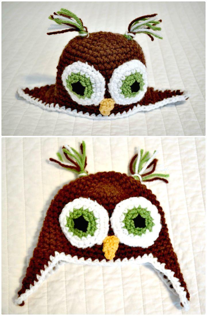 Crochet Owl - 92 Free Crochet Owl Patterns