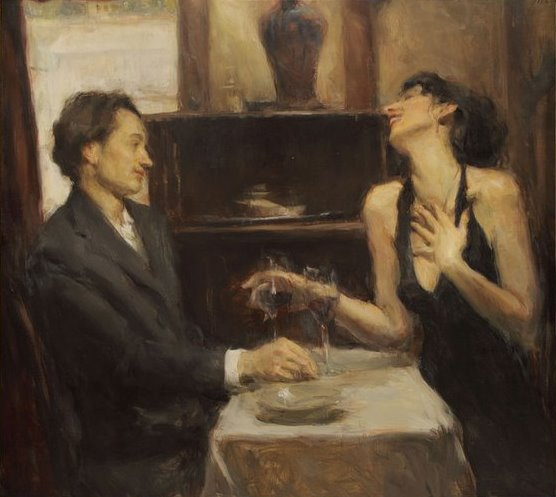 Ron Hicks 1965 Impressionist Figurative Painter Aesthetic Art Romantic Art Art