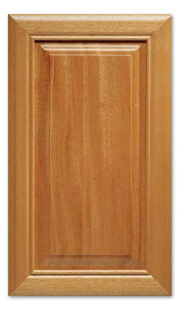 Sheffield S-Panel - Rustic Red Oak cabinet doors by cabinetnow.com ...
