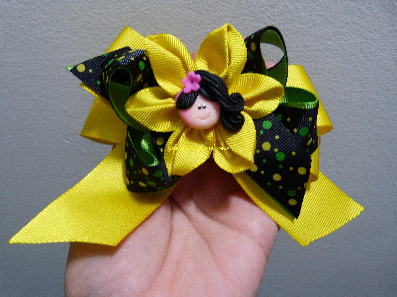 Flores y mo os en cinta para decorar accesorios para el - Cintas para decorar ...