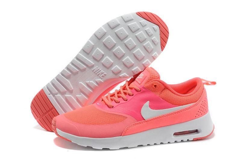 Coral Silver Nike Air Max Thea Print WoHerren schuhe | Stuff