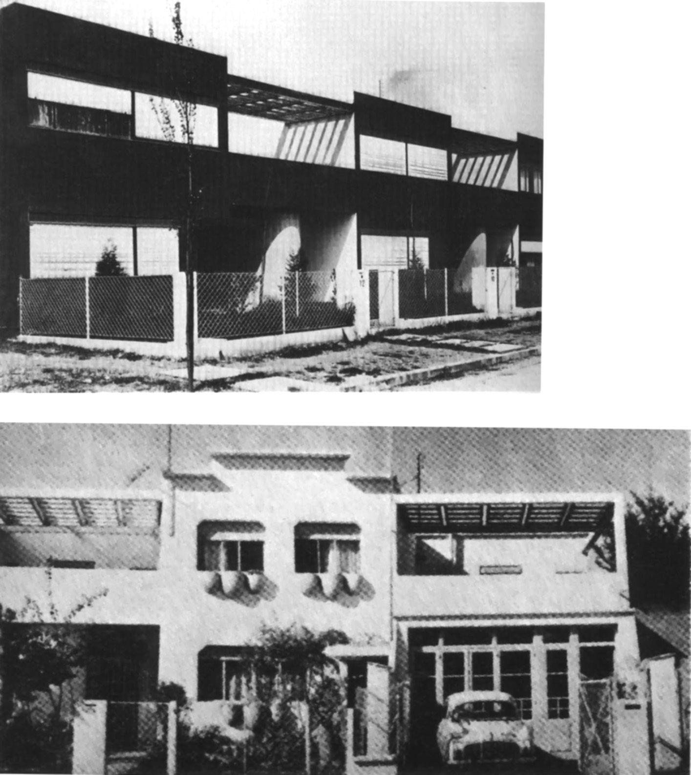 le corbusier pessac 1926 original state and transformed by inhabitants arch427 week5. Black Bedroom Furniture Sets. Home Design Ideas