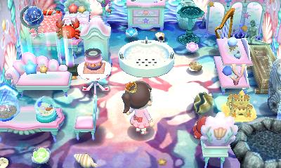 Mermaid Room With Images Animal Crossing Animal
