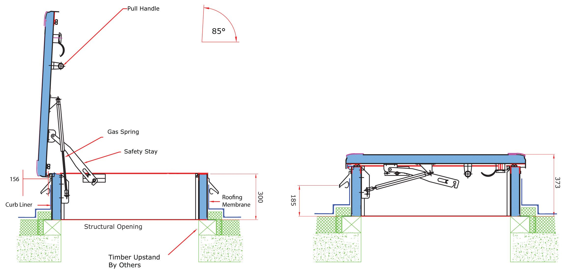 relationship of fixed ladder to a safe access hatch - Google Search ...