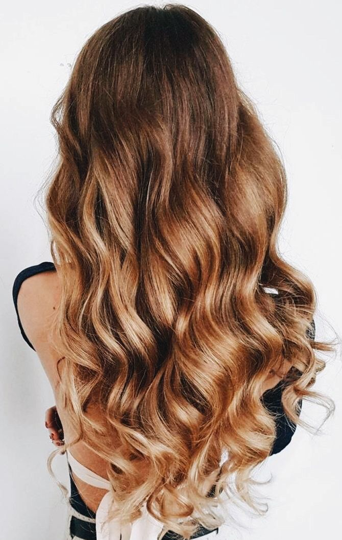 Long Hair Beach Waves Easy Natural Curves Long Hair Ideas Hair Styles Hair Curly Hair Styles